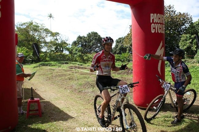 Vtt cross country – Coupe de Tahiti : Carlqvist Manate n'a pas de rival !