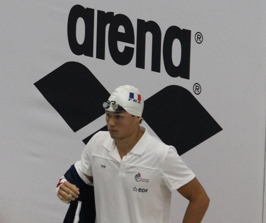 Le nageur tahitien Rahiti De Vos est l'un  des espoirs de la natation française.