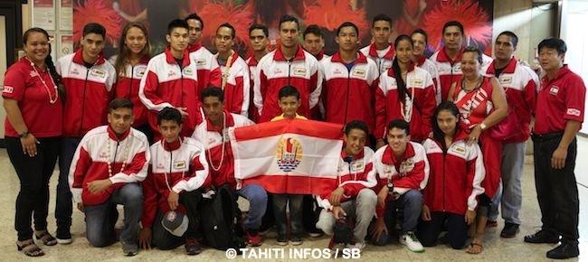 La délégation tahitenne compte bien ramener le maximum de médailles d'or