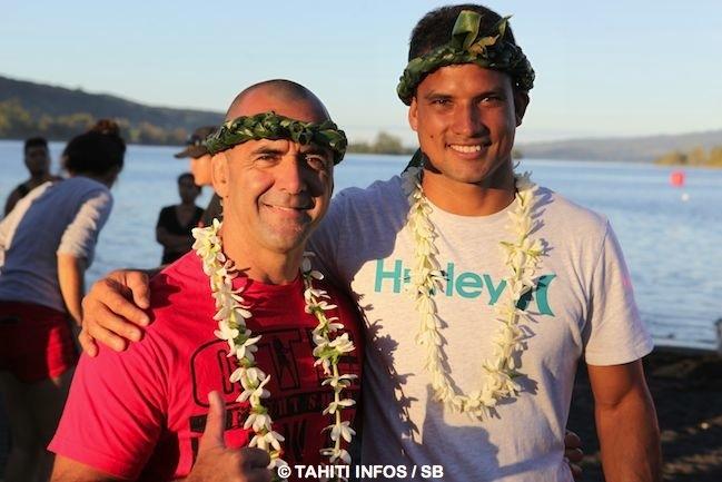 Surf – Billabong Pro Tahiti : Michel Bourez et son 'coach' à quelques jours du début de la compet' – interviews