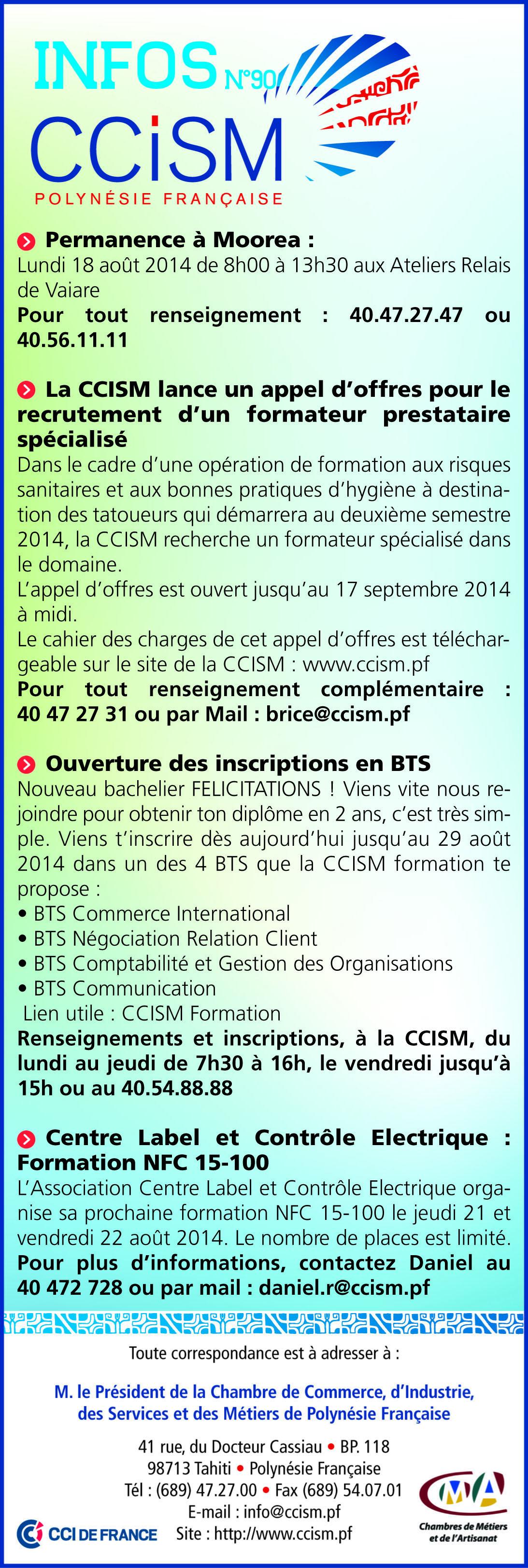 Infos CCISM N°90