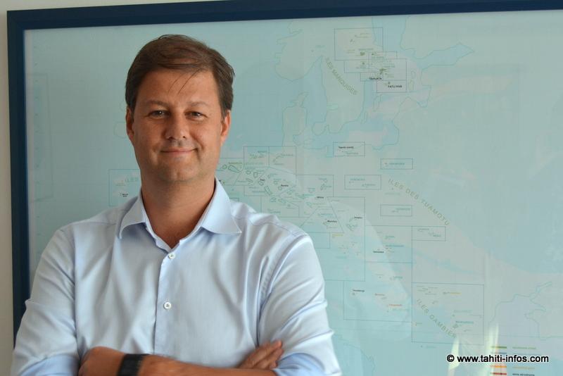 Alex Hervet, nouveau délégué régional d'Air France en Polynésie française