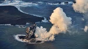 Japon: un effondrement d'une île volcanique en éruption pourrait provoquer un tsunami