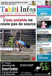 TAHITI INFOS N°238 du 21 août 2014