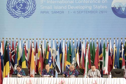 La Conférence internationale sur les petits États insulaires en développement a débuté à Samoa