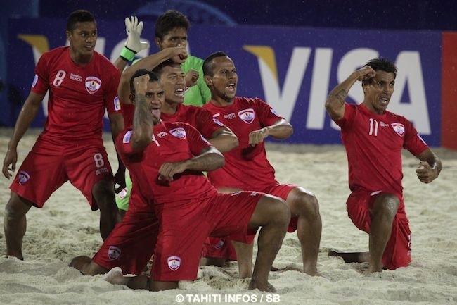 Beachsoccer – Tiki Toa : deux match amicaux contre l'Angleterre prévus les 26 et 27 septembre !