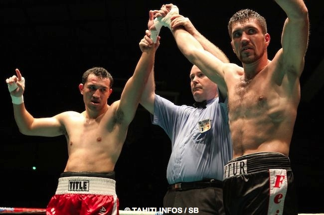 Les deux boxeurs ont proposé un très beau combat