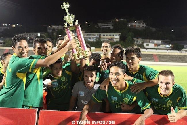 Football – Trophée des Champions : Tefana s'impose à Pirae 3 à 2 !