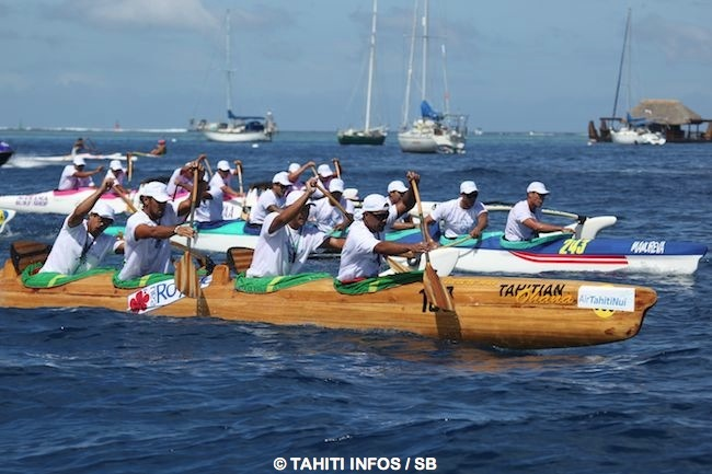 Hinaraurea à la lutte avec Air Tahiti Nui