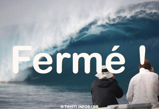 Surf de gros – 'Teahupo'o sera fermé' pour le tournage de 'Point Break dixit Raimana Van Bastolaer !