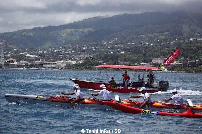 Va'a V 6 – Pacific Mousse Va'a race : victoire d'OPT, la naissance d'une grande équipe ?