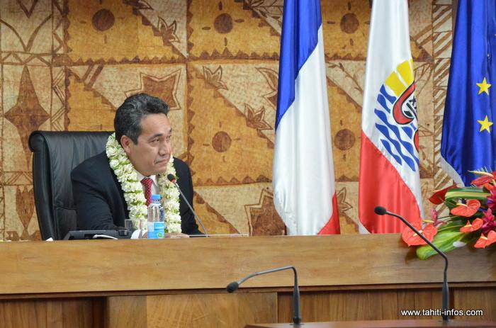Marcel Tuihani a été élu lundi matin au perchoir de l'Assemblée, en remplacement d'Edouard Fritch qui assume dorénavant la charge institutionnelle de Président du Pays