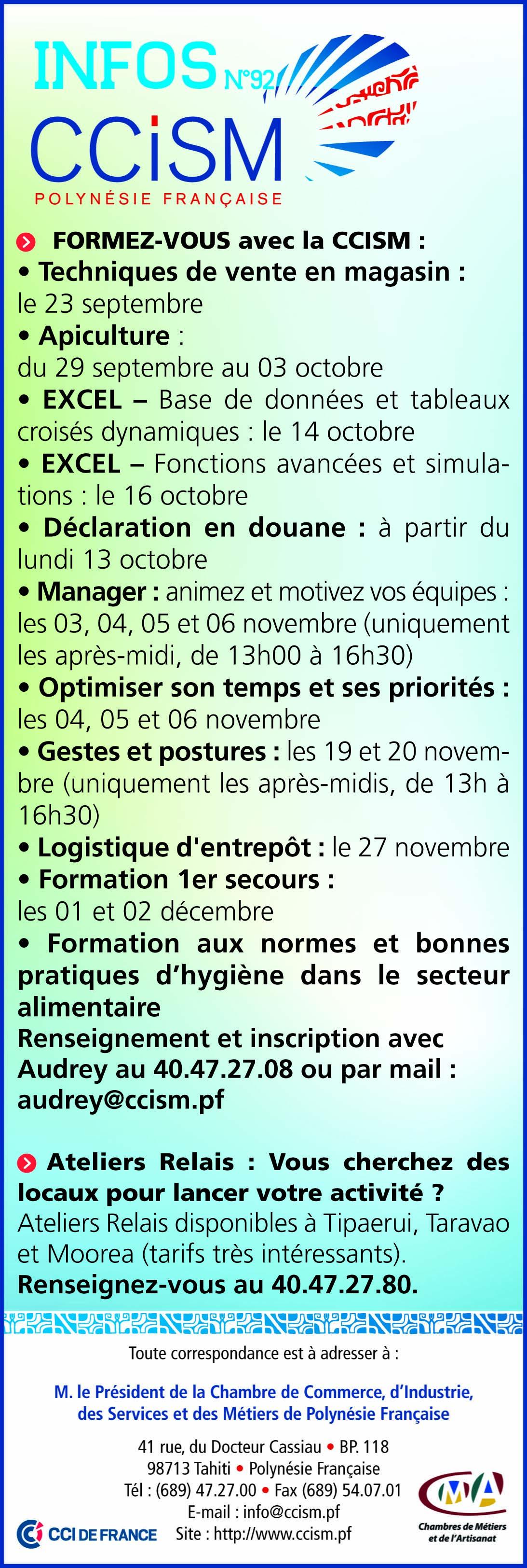 Infos CCISM N°92