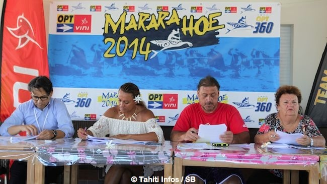 Marc Chapman, Chantal Bigot, Arihi Rota et Doris Hart