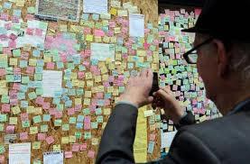 Aux Etats-Unis, une escroquerie boursière... sur Post-it