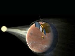 La sonde américaine Maven réussit son insertion en orbite martienne