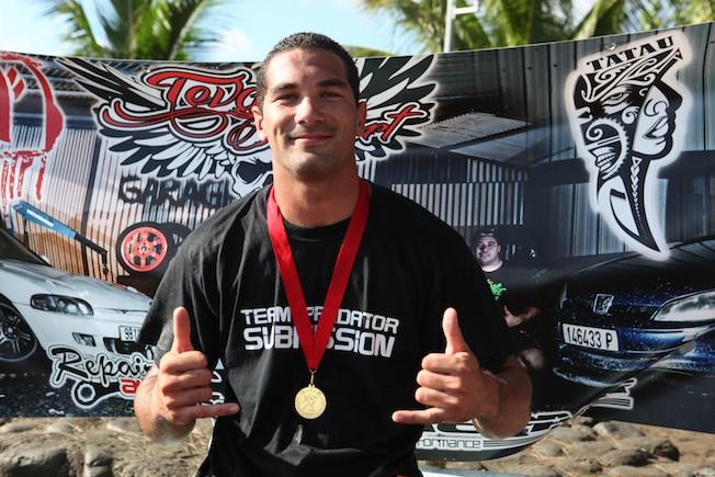 Tumaui Nordman remporte la première édition du Beach Wrestling Contest