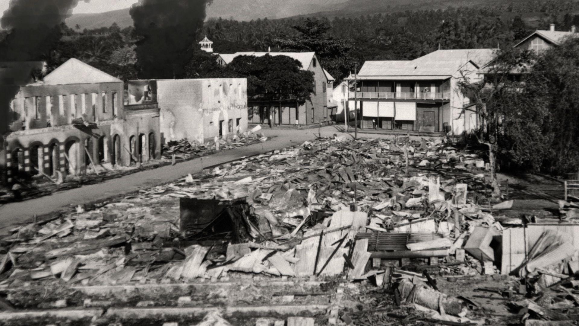 Histoire: Il y a 100 ans, Papeete était bombardée