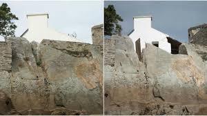 Il découpe un rocher rare pour avoir vue sur mer: la mairie porte plainteArticle n°110291