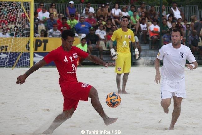 Beachsoccer – Tiki Toa vs Angleterre : une deuxième victoire 3-2, dans la douleur !