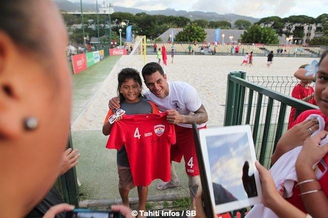 Beach soccer – Focus sur Heimanu Taiarui, le 'chouchou du public' !