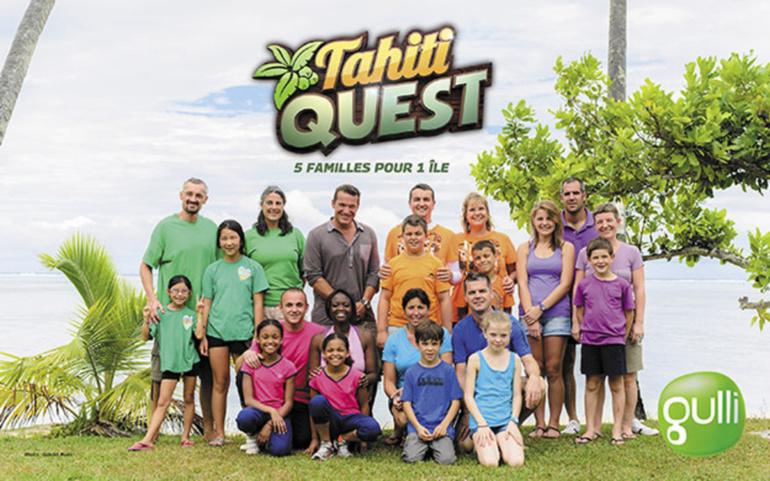 Le jeu de téléréalité familial Tahiti Quest est tourné sur l'île de Moorea.