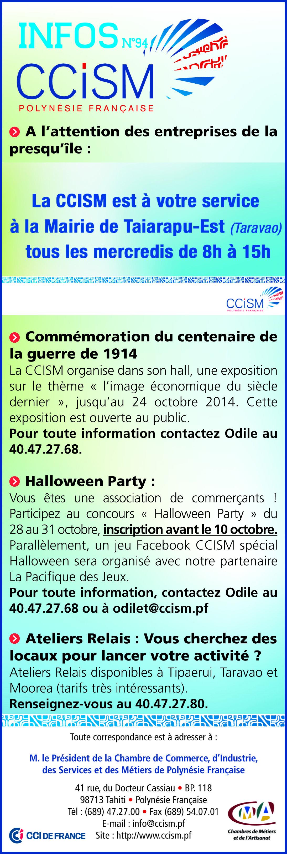 Infos CCISM N°94