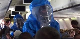 Ebola: une plaisanterie immobilise un avion