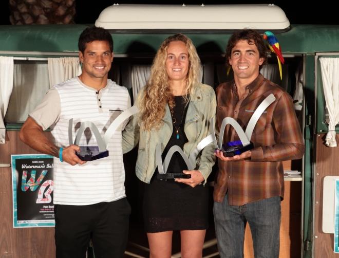Michel Bourez élu athlète de l'année à Seignosse