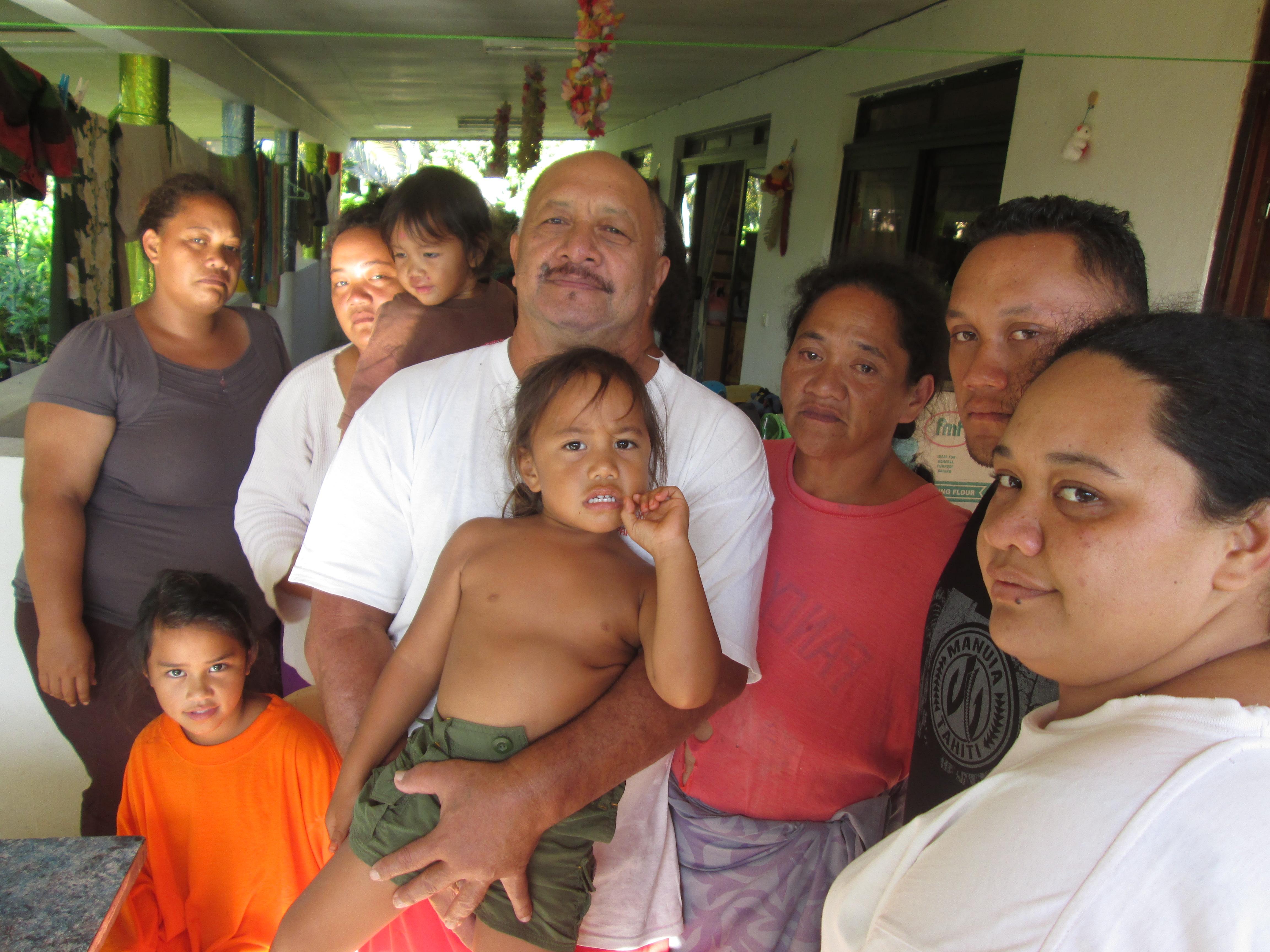 En l'espace d'une semaine, tous les adultes de la famille Tahuroa  de Papeari ont été touchés par le Chikungunya