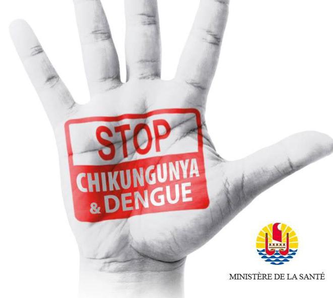 En raison des virus de la dengue et du chikungunya qui se propagent très rapidement, le ministère de la santé de Polynésie déploie une large campagne de communication depuis quelques jours pour inciter la population à se protéger des piqûres de moustiques et à détruire les gîtes larvaires. Ce vendredi un SMS allant dans ce sens a été envoyé à tous les abonnés Vini.