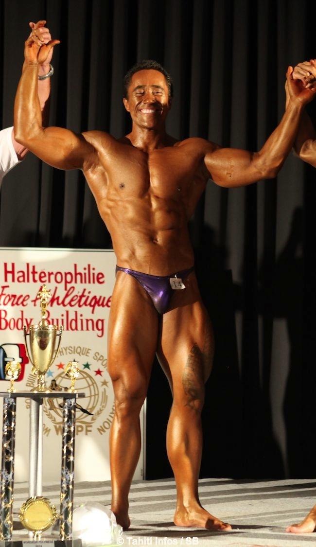 "Bodybuilding : Stéphane Matke est ""Mr Polynésie 2014"""