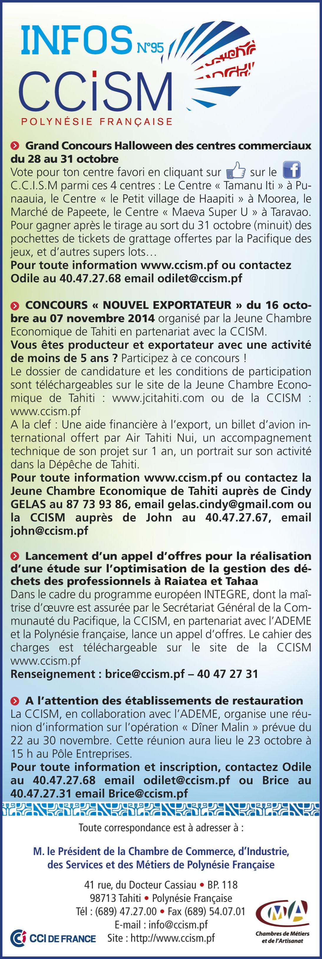 Infos CCISM N°95