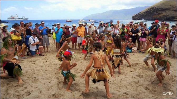 1ere Beach Party sur la plage de sable blanc de Kokuu à Tahuata : Une réussite!