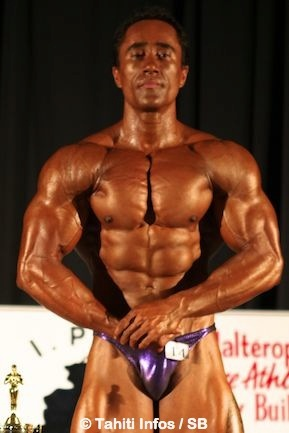 Bodybuilding – South Pacific Bodybuilding Championship : Stéphane Matke garde son titre !