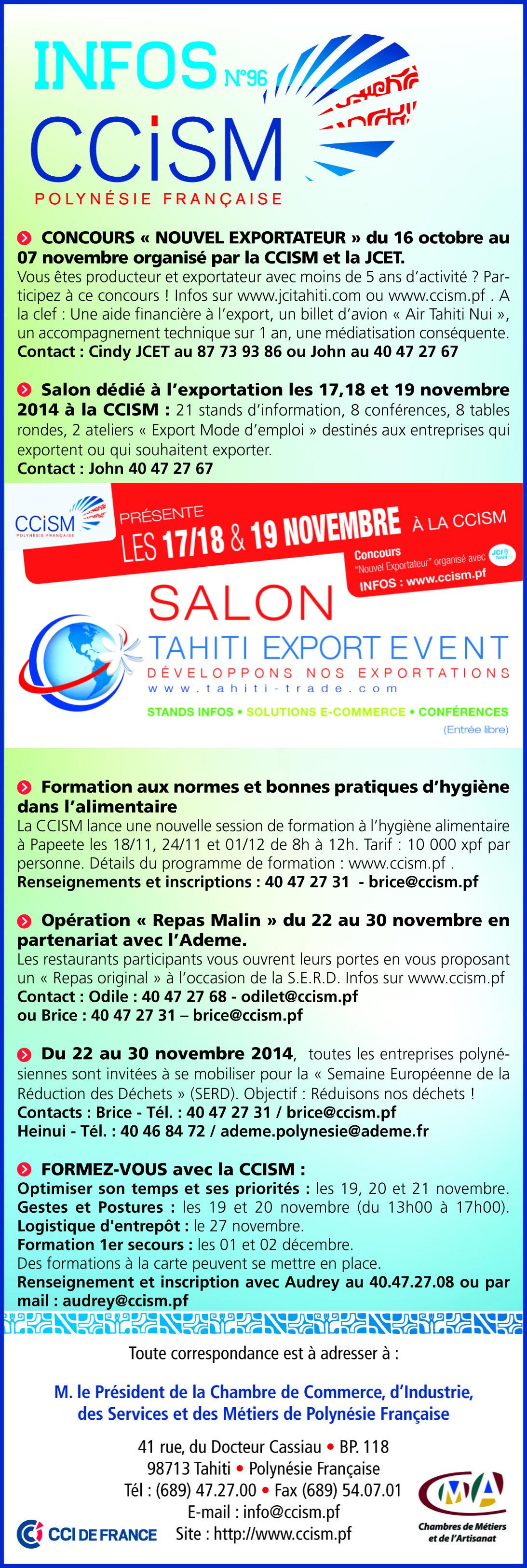 Infos CCISM N°96