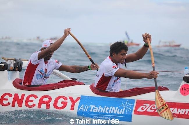 Hawaiki Nui Va'a – Etape 2: Edt A gagne encore et augmente son avance au général! Résumé + Diaporama
