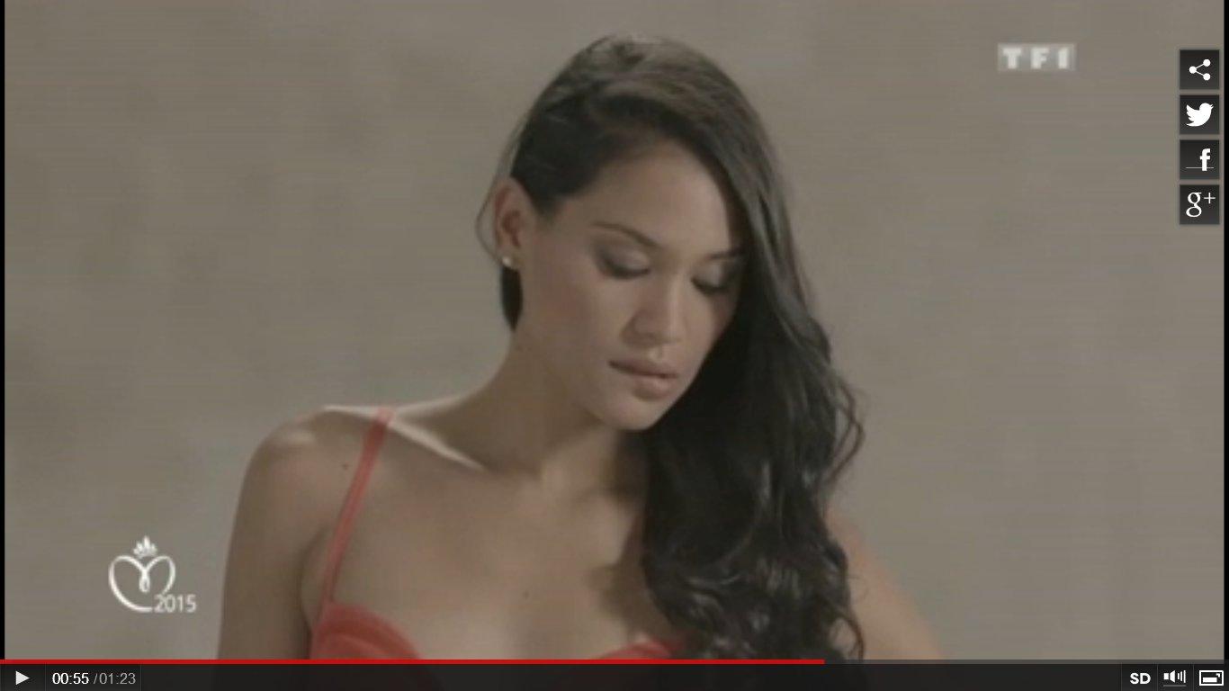 Miss France : la première vidéo de Hinarere Taputu