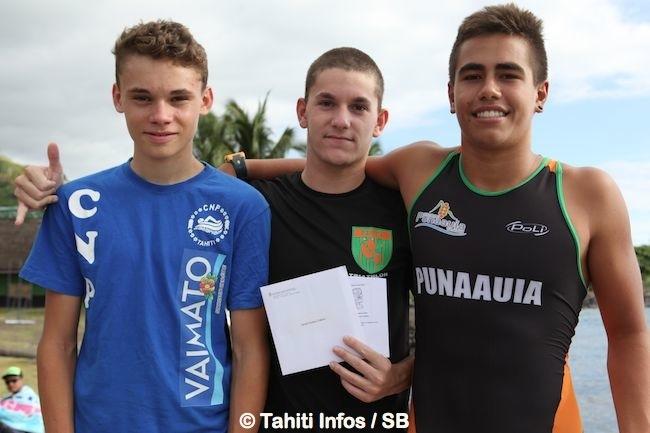 Aquathlon - Alexandre Buvry : le touche-à-tout remporte l'aquathlon de Punaauia