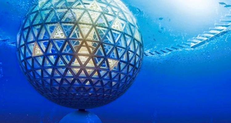 """Oubliez l'espace, la """"ville-globe du futur"""" est dans l'océan"""