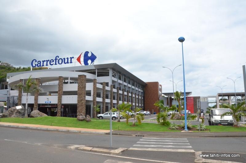 Pacific Plaza : le centre commercial et le Carrefour Auae ouvrent mardi
