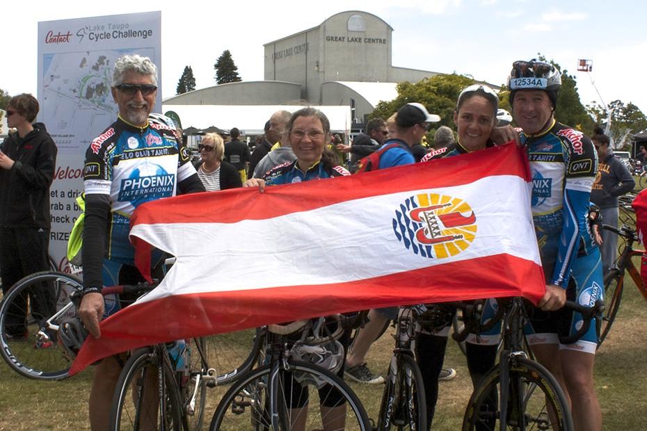 La délégation du VCT a représenté la Polynésie dans ce rassemblement de près de 13 000 coureurs