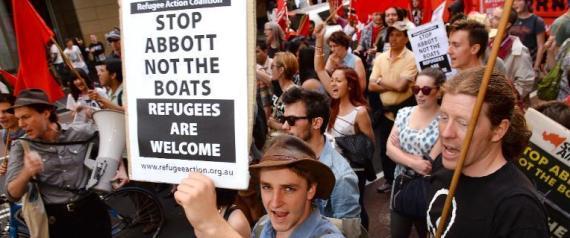 Le durcissement de la politique australienne sur l'immigration a déjà provoqué des manifestations, comme ici à Sydney en septembre 2013.