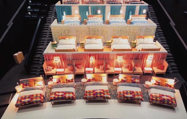 Moscou: La séance de ciné se passe au lit