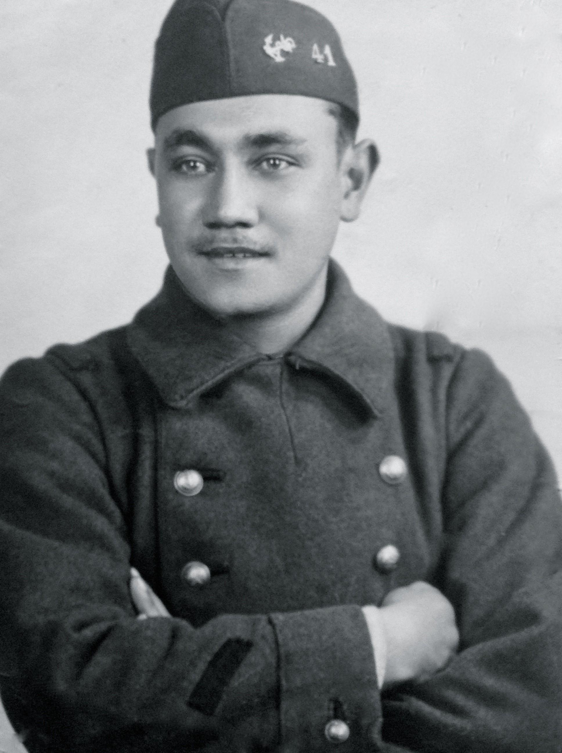 Le caporal Robert Lequerré