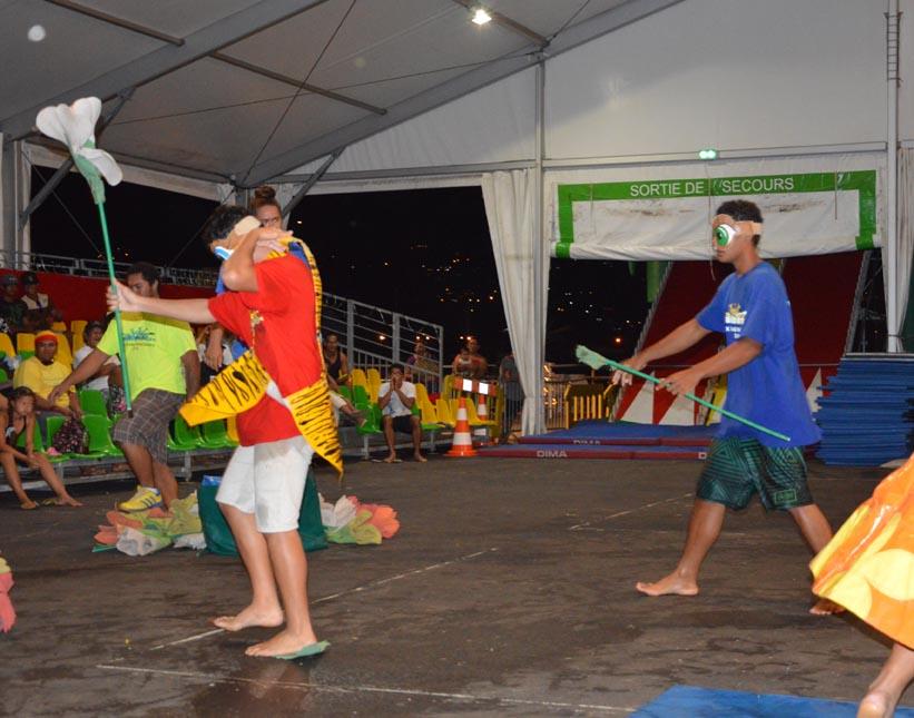 Ta'urua i Faa'a - Ganivet remporte la finale des jeux sans frontières