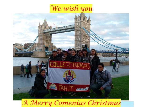 """Les """"Comenius"""" de Taravao de retour de Londres"""