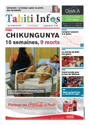TAHITI INFOS N°321 du 18 décembre 2014