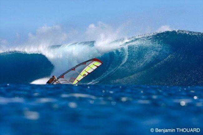 Teiva a été un des premiers windsurfeurs pro