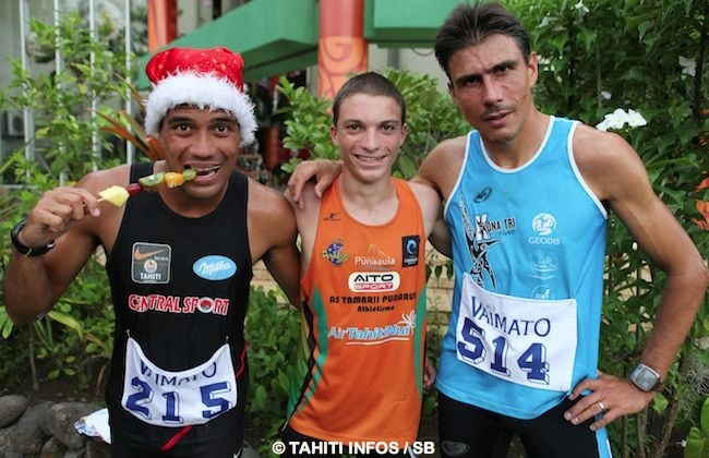 Winsy Tama, Loic Mevel et Yohan Hotellier